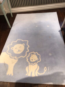 Area Rug for Baby Boy's Room from Pottery Barn Kids