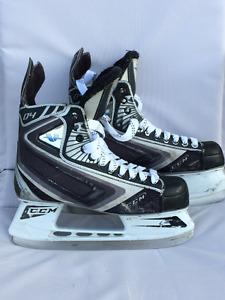 Used CCM Vector 4 hockey skates