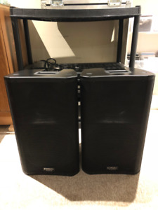 QSC K12 Powered Dj Speakers