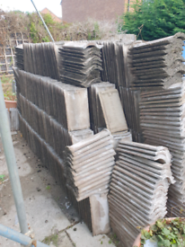 Concrete anglia roof tiles approx 900+ make me an offer