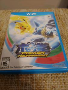 Pokken tournament for wii u