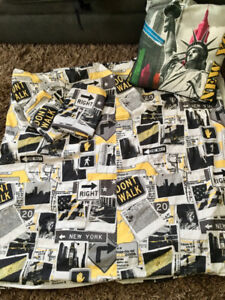 New York City Bedding Set