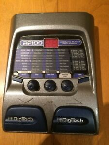 DigiTech RP100 – pedal effects - pedal board – guitar pedal