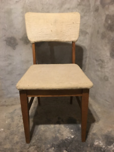 Two Chairs $5 each. Not fancy but solid.