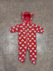 Pink Baby overalls