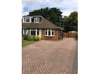 3 bedroom semi detached bungalow for sale in Yateley, Hampshire.