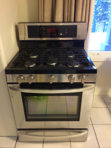 LG Freestanding Gas Oven - Brand New (never used)!