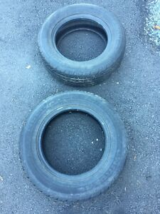 Two summer tires, never driven on 100$ obo