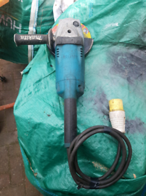 Makita 9 inch angle grinder good used condition