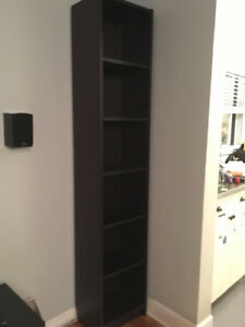 IKEA billy bookcase black/brown