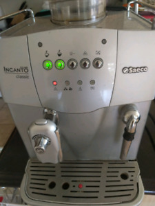 Saeco Incanto automatic espress maker for parts or repair