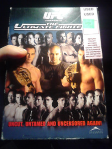 UFC THE ULTIMATE FIGHTER COMPLETE SEASON 2 DVD s RASHAD EVANS
