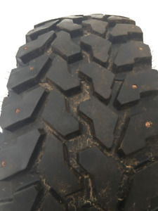 For Sale - 4 x LT 245/75R/16 Winter Studded Tires in very good c