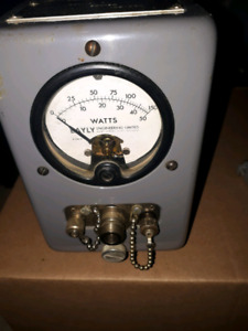 Vhf uhf rf power meter  ham radio