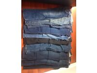 Jeans and trousers, size 14