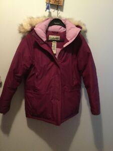 L L Bean Down Filled Gortex Women's Jacket