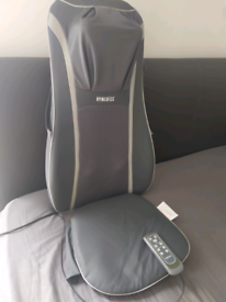 HoMedics Sensatouch 2 in 1 Shiatsu Back Massager Chair Cushion