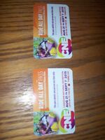 4 CNE unlimited passes....SAVE $100.00