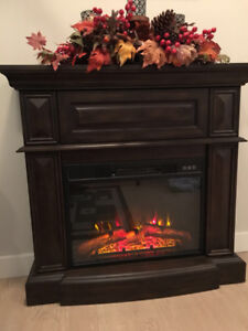 Electric Fireplace with Remote control
