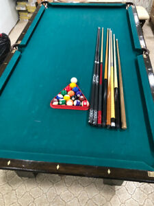 4ft X 8ft pool table