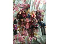 10 ever after high dolls