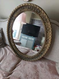 Antique regency mirror