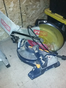 Ryobi mitre saw - 12 inch blade