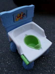 Winnie the pooh potty (used but disinfected)