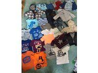 Boys clothing bundle 6-9 9-12