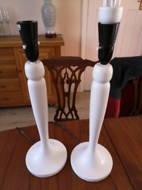 Lamps table / bedside (pair)