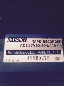 OTARI MX50N 2 Track Tape Recorder