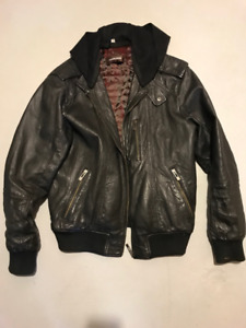 Genuine Leather Jacket (men's medium)