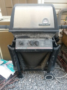 Sterling natural gas BBQ, grills are clean and in great shape