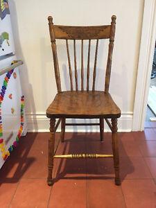 Chaises pour table à manger vintage / antique   Chairs!