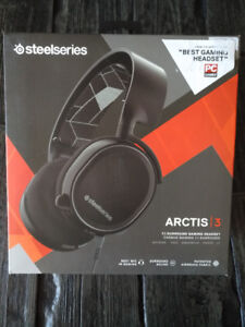 NEW SteelSeries Arctis 3 All-Platform Gaming Headset 7.1