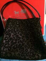 Leopard Coach Purse