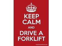 Forklift driver , Looking for a job