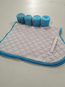 All Purpose Saddle Pad & Matching Polos