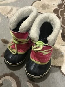 Sorrel girls boots