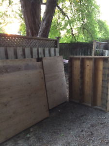 Four 2 x 6 slab forms custom built - use as shed foundation?