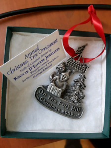 2002 Fort Henry Kinnear D'Esterre Jewellers Ornament