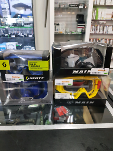 Motorbike goggles and gloves Belmont Belmont Area Preview