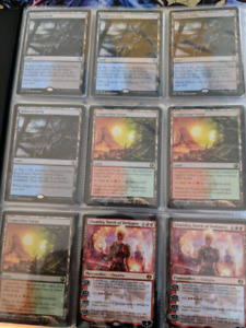 Modern standard and commander magic cards