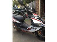 Aprilia sr50r scooter 2014