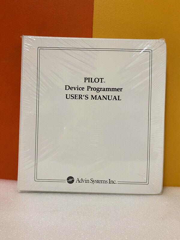 Advin System Pilot Device Programmer User