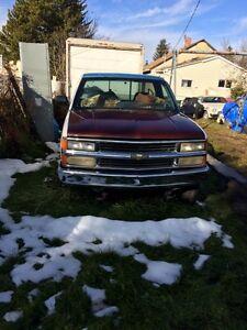 95 Chevy long box 4x4