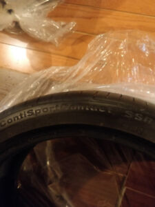 Continental CONTISPORTCONTACT 5 SSR summer tires for SALE!!