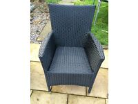 Rattan garden chair ( 3 available ) brand NEW