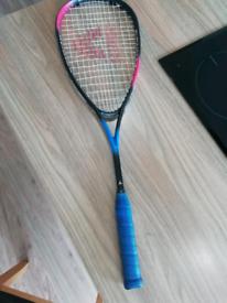 Graphite Squash racket