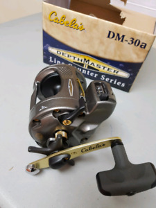Line counter fishing reels, NEW